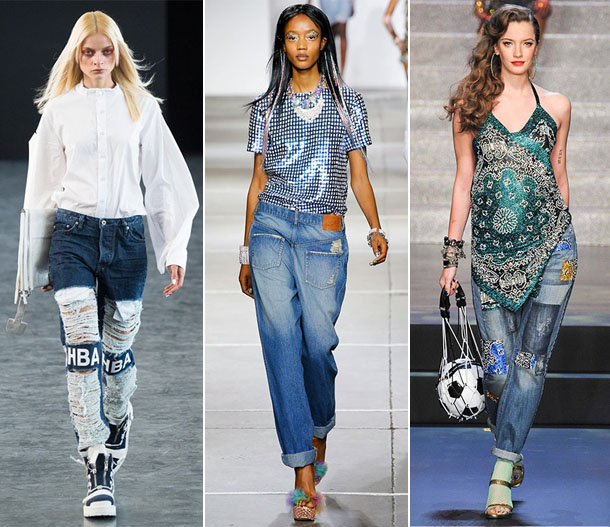 Модные джинсы сезона осень-зима 2016