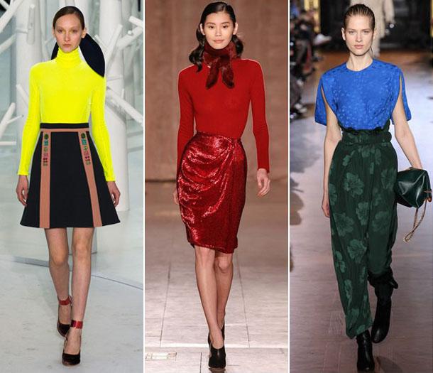 Модные блузки сезона осень-зима 2016