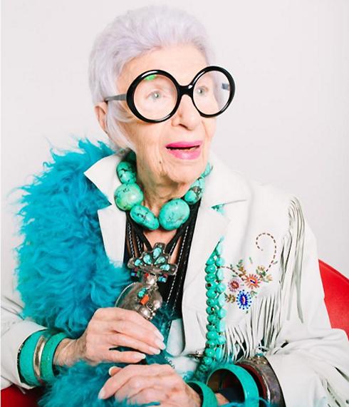 В вашем-то возрасте: Айрис Апфель создает коллекцию для тех, кому за 90