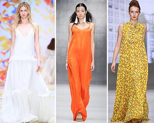 Платья в пол: как носить, с чем сочетать