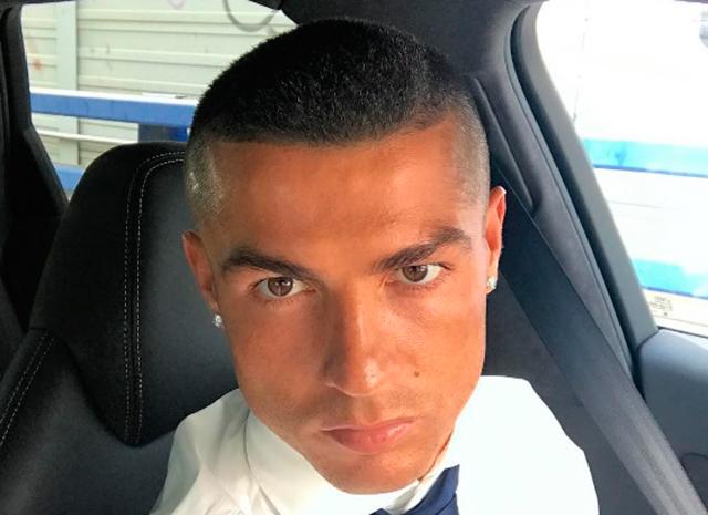 Криштиану Роналду сменил прическу после победы в Лиге чемпионов